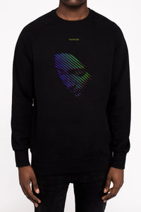Face Off 2.0 Crewneck - Black