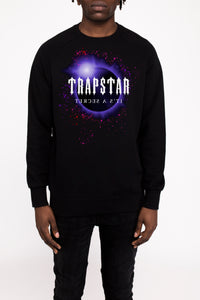 Decoded Solar Eclipse 2.0 Crewneck - Black