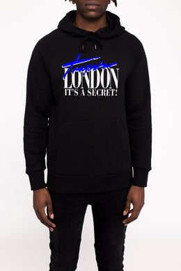 Trapstar London Hoodie - Black/Blue