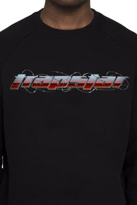 Trapstar Chrome Racer 2.1 Crewneck - Black