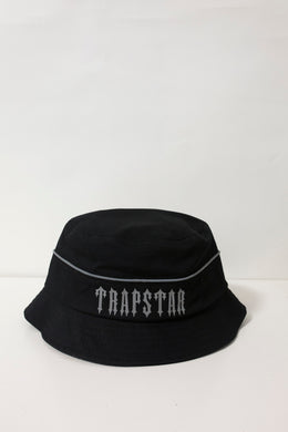 Irongate Panel Bucket Hat - Black/Reflective