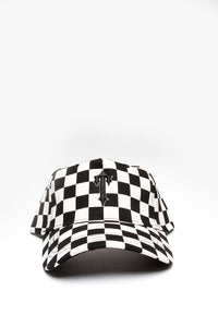 Irongate T Chequered Cap - Black