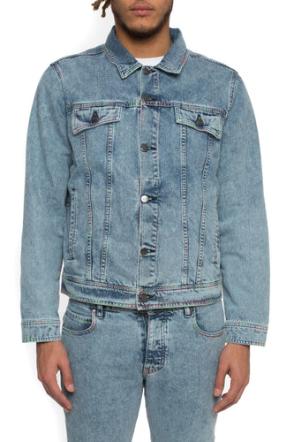 Spectrum Denim Jacket - Blue