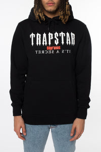 Trapstar Decoded x Sopranos Bada Bing Hoodie - Black