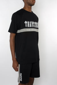 Decoded Mesh Panel Shorts Set - Black/Grey