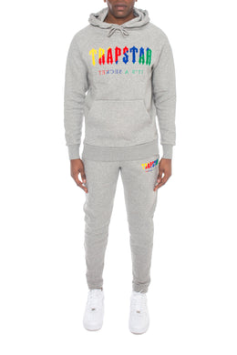 Chenille Decoded Tracksuit - Grey Candy Flavours Edition