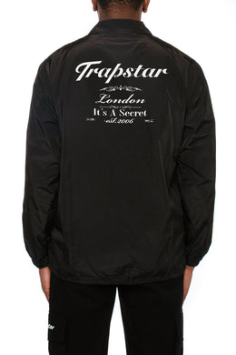 Fine Dining Coach Jacket - Black