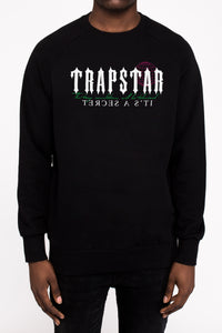 Trapstar x Blade Brown Trap Revolution Crewneck - Black