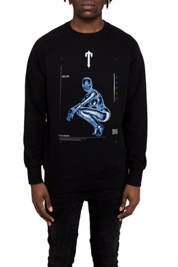 Irongate Heatmap 2.0 Crewneck - Black