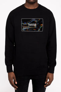 Classic Box Sonic Rave Edition Crewneck - Black