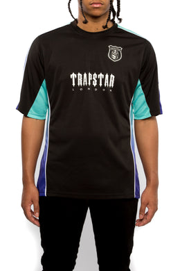 Trapstar S/S Football Top - Black/Gradient