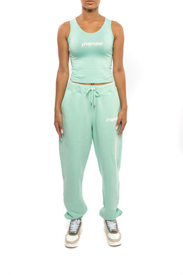 Women's Ironblade Vest & Baggy Pants Set - Mint