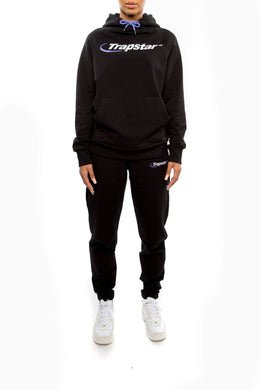 Women's Oversized Hypderdrive Tracksuit - Black