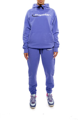 Women's Oversized Hyperdrive Tracksuit - Purple