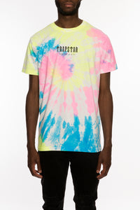 Art of War Outline Tie Dye Tee - White