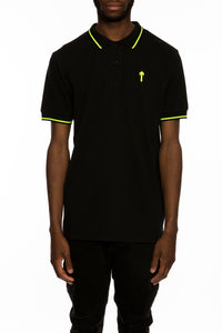 Mens T Polo Shirt - Black