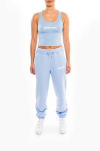 Women's Ironblade Vest & Baggy Pants Set - Cashmere Blue