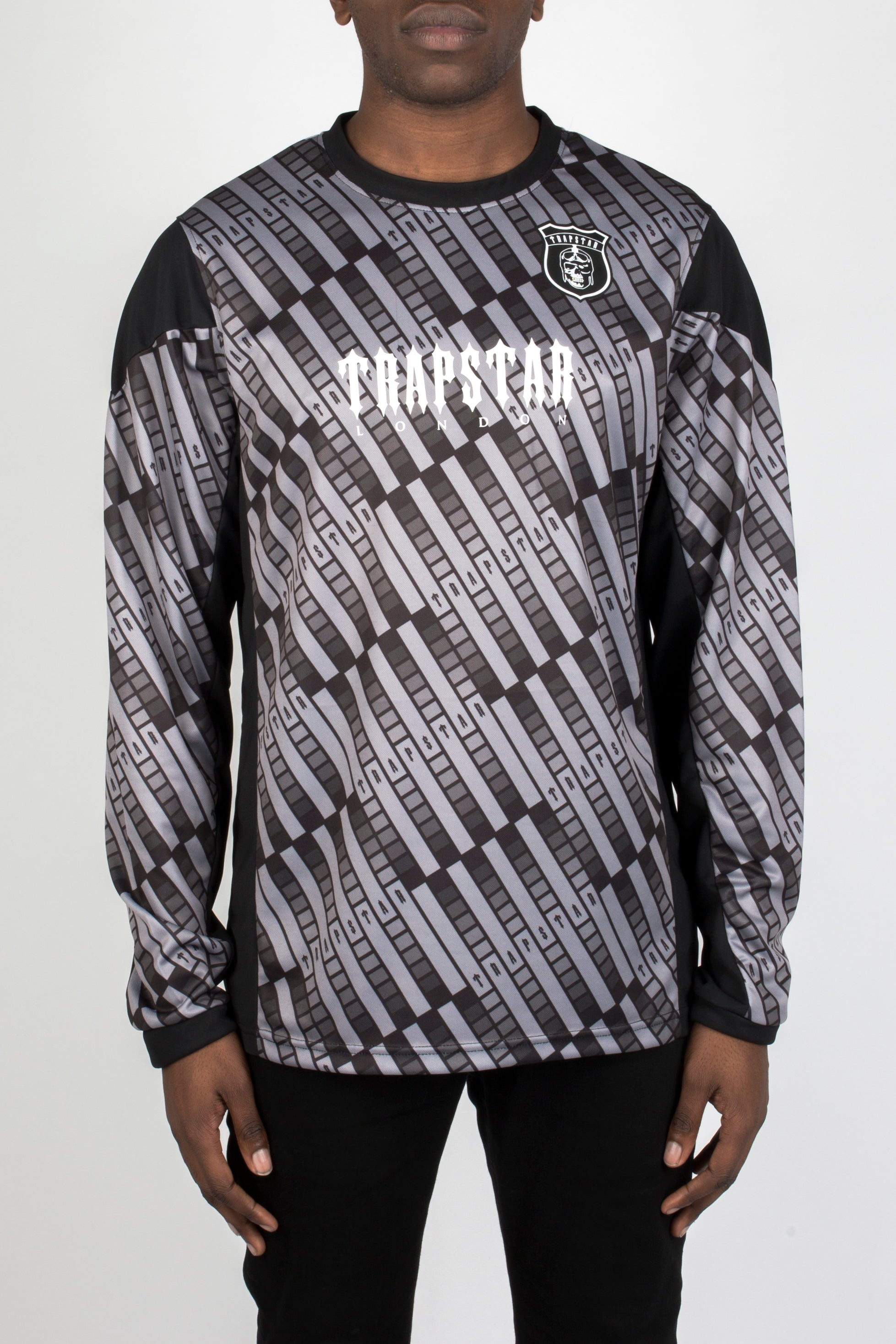 Trapstar L/S Football Top - Home Jersey