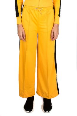 Women's Flared Panel Bottoms  - Yellow/Black