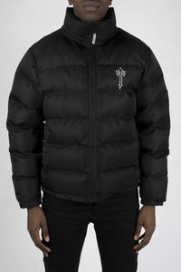Mens Irongate Quilted Slim Fit Jacket - Black