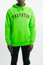 Load image into Gallery viewer, Embroidered Irongate Arch Hoodie - Neon Green/Black