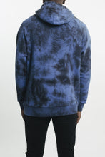 Load image into Gallery viewer, 3D Arch Hoodie - Dark Blue Tie Dye