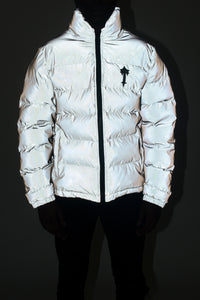 *PRE ORDER* Mens AW20 Irongate Quilted Slim Fit Jacket - Reflective Silver