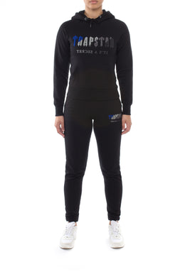 Women's Chenille Decoded Hoodie Tracksuit - Black Ice Flavours Edition