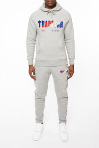 *PRE ORDER* Chenille Decoded Hoodie Tracksuit - Grey Ice Flavours Edition