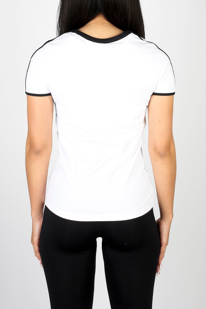 Women's Irongate Comfort Fitted Tee Short Sleeve - White/Black