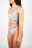Irongate Bra-Set - Grey