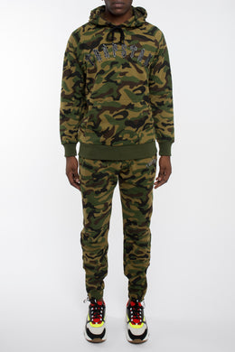 Irongate Embroidered Arch Tracksuit - Camo