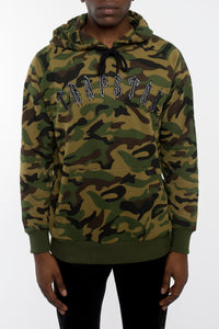 Irongate Embroidered Arch Hoodie - Camo