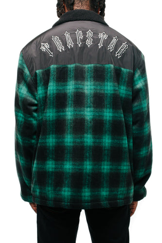 Trapstar Irongate Lumberjack Jacket - Green Plaid