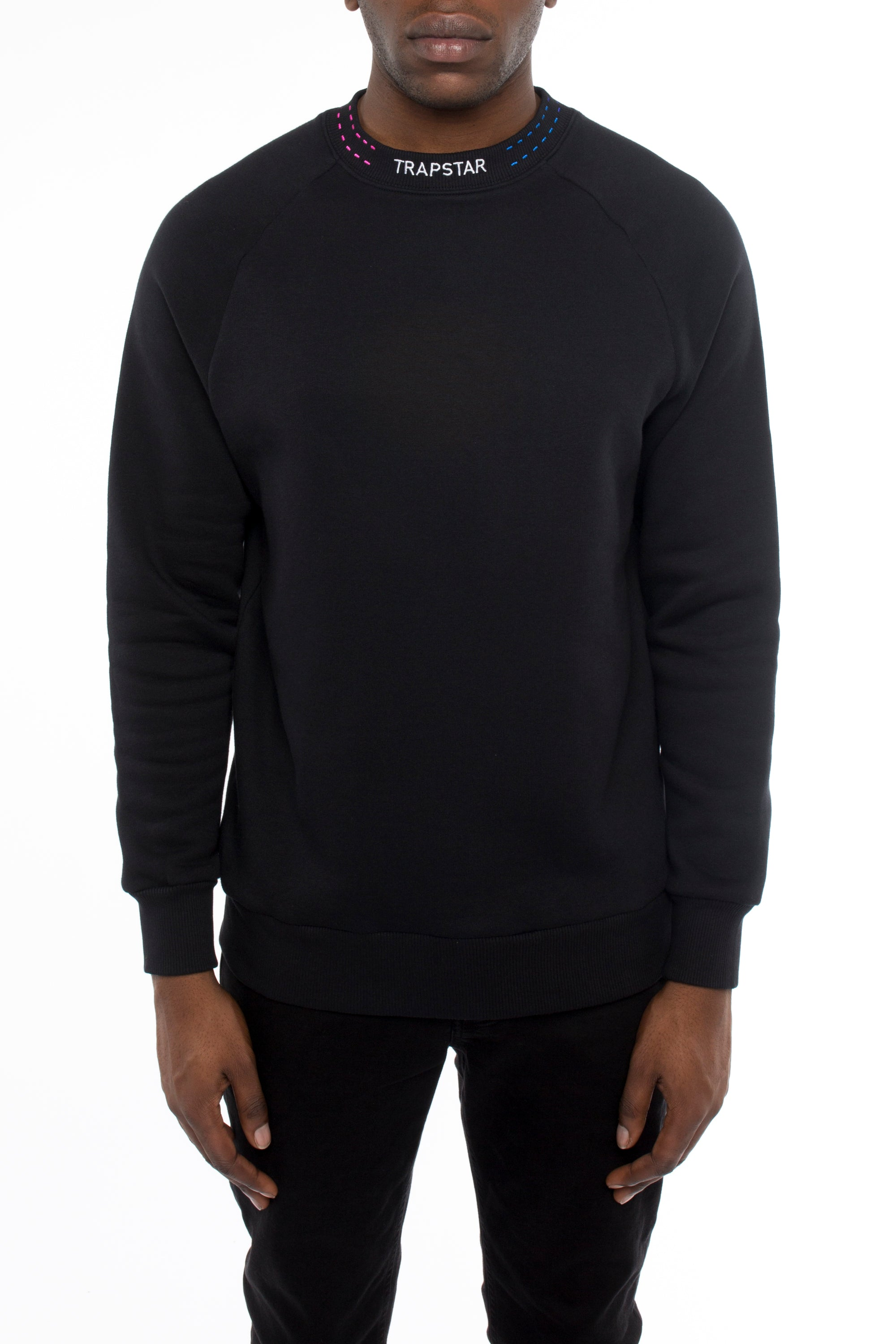 Trapstar Orbit Crewneck - Black