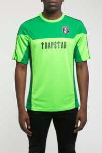 Trapstar S/S Football Top - Neon Green
