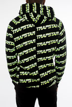 Load image into Gallery viewer, Trapstar Chrome Racer Hoodie - Black/Neon Yellow