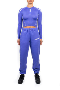 Women's Ironblade Cycling Top & Baggy Pants Set - Iris