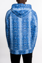 Load image into Gallery viewer, Ironblade Hoodie - Blue Snake