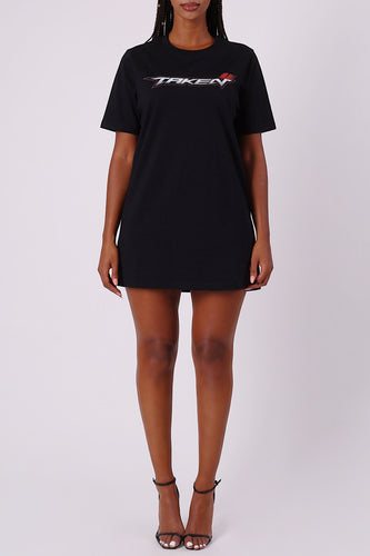 Womens Trapstar Taken Oversized Tee - Black