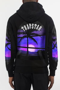 Art of War Sunset Hoodie - Black