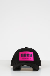 Decoded Patch Strapback - Black/Neon Pink