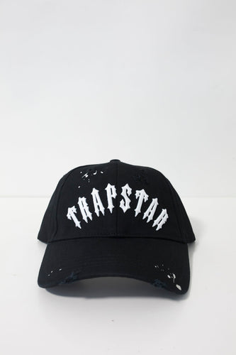 Speckled Irongate Arch Strapback - Black/White