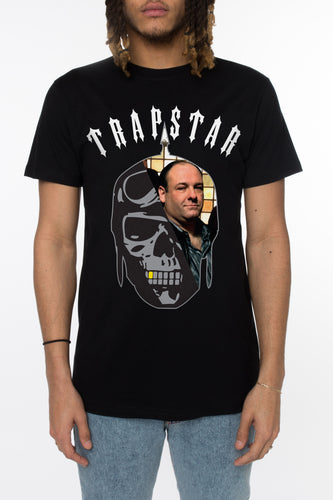 Trapstar x Sopranos Don Tony Tee - Black