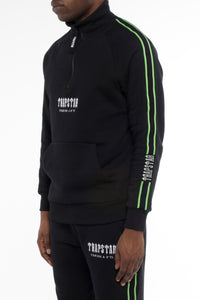 Decoded Tape Jumper - Black/Neon Green