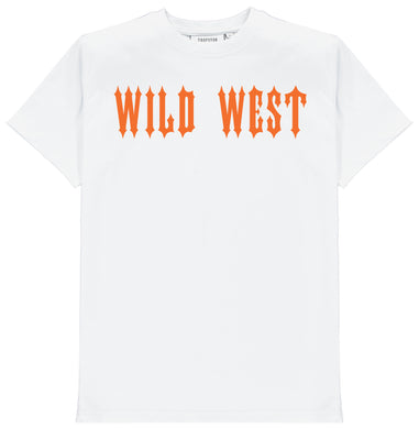 Trapstar x Central Cee Wild West Tee - White
