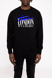 Trapstar London Crewneck - Black/Blue