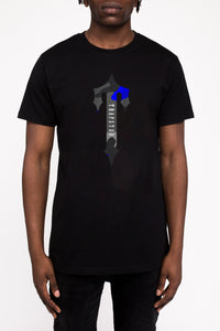 Irongate T Camo Tee - Black/Midnight Blue