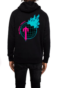 Trapstar Global Heat Hoodie - Black