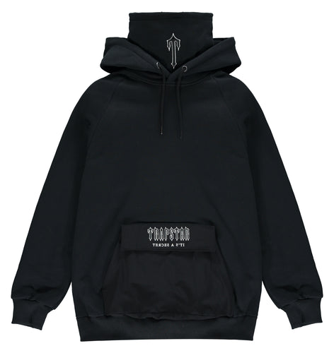 Irongate Utility Snood Hoodie - Black/White